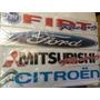Sticker Calco Vinilo Parabrisas Autos Fiat 90cm 2 Colores