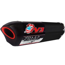 Ponteira V3 Preto Pro Tork Moto Cb 300 R