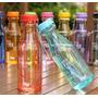 Botella Bpa Free Acrílico Plástico Atóxico Lunchera Niños