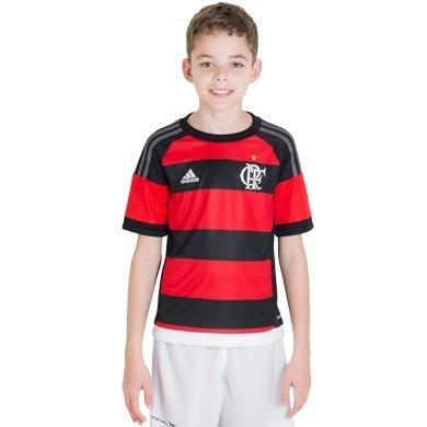Camisa Infantil adidas Flamengo 2015 Oficial Promoção - R  148 5480a7b5207ae