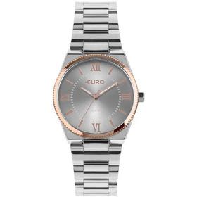 976b15fcbe7 Relógio Feminino Euro Eu2035yps 4p 38mm Aço Preto - R  226