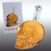 Garrafa Caveira De Vidro Crânio 1 Litro Crystal Head 1000 Ml