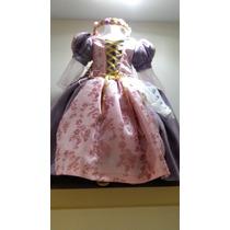 Vestido De La Princesa Rapunzel Y Zapatos Envio Gratis Dhl