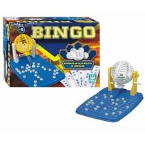 Jogo Bingo Completo + 48 Cartelas + 90 Bolinhas Brinquedo