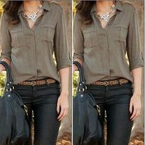Blusa Camisa Casual Y De Vestir Moda 2016