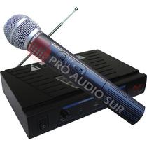 Microfono Inalambrico De Mano Profesional Gbr Pr 158 Vocal