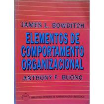 Elementos De Comportamento Organizacional 978-85-221-014-29