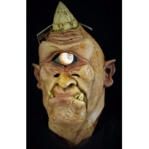 Mascara Ciclope Con Movimiento Hallowen Miedo Celular Broma