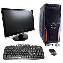 Cpu Gamer Com Wi-fi Hd 500gb 4gb Ótimo Desempenho (novo)