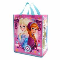 Elsa Anna E Olaf Sacola Reutilizável Frozen Original Disney