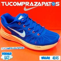 Zapatos Nike Lunarlon Para Damas Y Caballeros Nuevos