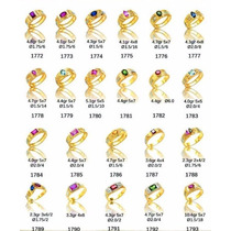 Anel De Formatura Ouro 18 Masculino Feminino Todos Os Cursos