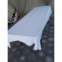 Mantel Para Tablón, Mesa Rectangular 3x1.50 Mt