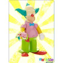 Krusty Payaso Simpson Figura Parlante Coleccionable 25años