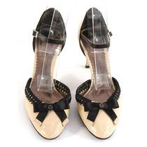 Zapatos De Tacón Bajo Giorgio Armani
