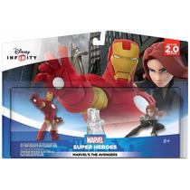 Disney Infinity Marvel Iron Man / Viuda Negra Avengers 2.0