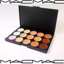 Paleta Correctora De 15 Tonos Mac Mayor Y Detal