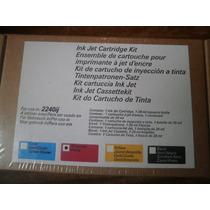 Kit De Cartucho De Inyección A Tinta Xerox Plotter 2240ij,