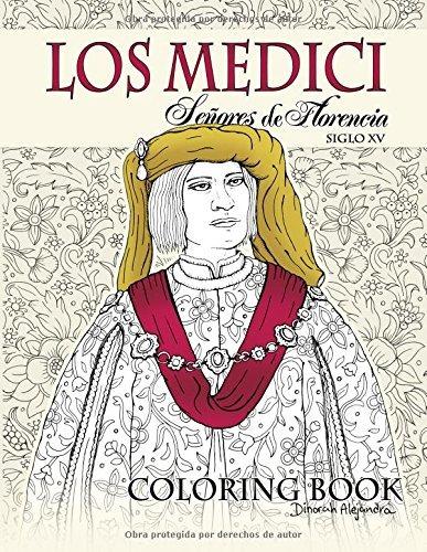 Libro : Los Medici Señores De Florencia Coloring Book: S... - $ 879 ...