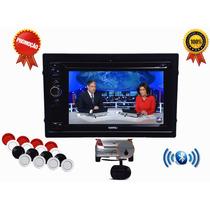 Kit Dvd Multimidia Novo Corsa Camera De Ré Tv Usb Sensor