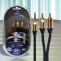 Linha Nova Diamond Cable Goldseries Gs-3035 Cabo P2/rca 3m