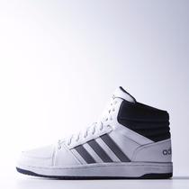 Zapatillas Botitas Adidas Neo Hoops Vs Mid Blanco/gris