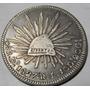 Moneda 8 R Durango 1827 Rl Plata Excelente Muy Rara