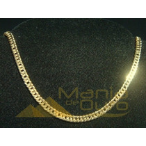Corrente Masculina Ouro 18k Grumet Duplo 20g 60cm Oca 0008