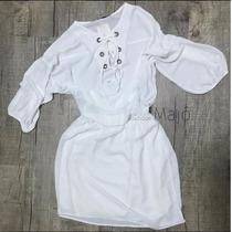 Vestido Curto Branco Para Festa