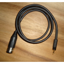 Cable Audio Xlr A Mini Plug Para Irig