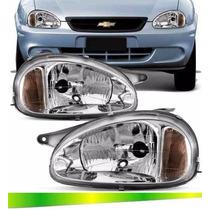 Farol Corsa Classic Sedan 2004 2005 2006 2007 2008 2009 10