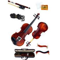 Violino 4/4 Duke Vd 679 Profissional Case Mega Luxo Top