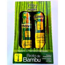 Kit Vitay Novex Broto De Bambu Cabello 300 Ml Perocontenta