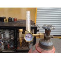 Regulador Tipo Flujometro Dióxido Carbono Co2 Nuevo Barato