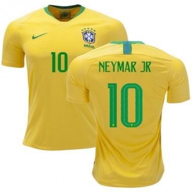 Camisa Copa 2018 Brasil 10 Neymar Seleção Brasileira Oferta - R  149 ... e10b1675579ae