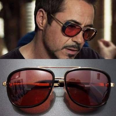 2481b5a2f Óculos Soldador Lentes Vermelhas Proteção Uv400 Homem Ferro - R$ 89,00 em  Mercado Livre