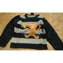 Busco Suéter De Niño Como Nuevo Importado Mimo Chiky Grisino