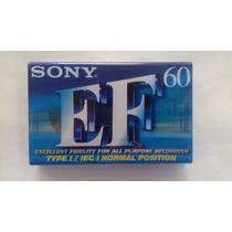 Cassette Sony Vírgen 60 Minutos