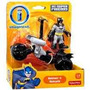 Fisher Price - Imaginext - Batman & Batcycle - Dft57