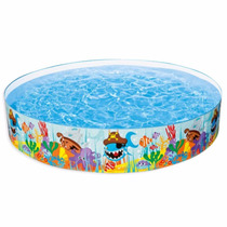 Piscina Borde De Plástico Intex 244 X 46 Cm