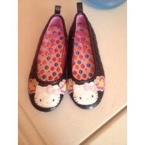 Zapatillas Para Niñas Hello Kitty Importadas 19.5cm Talla13