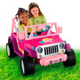 Fisher-price Barbie Jeep Wrangler Carro Eléctrico Niña
