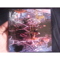 Korn - Issues Autografiado Portada Rara Alterna Envio Gratis