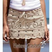 Faldas Playeras Tejidas A Mano, Natyva Crochet.