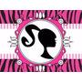 Kit Imprimible Candy Bar Barbie Silueta Cumples Y Mas