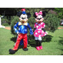Venta Disfraz Cabezon Mickey Minnie Personajes