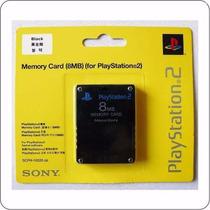 50 Unidades-memory Card Cartão Memória Ps2 Playstation 2 8mb