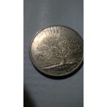 Moneda 25 Centavos 1999, Connecticut, Quarter Usa