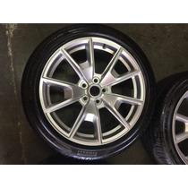 Juego De 4 Rines Ford Mustang 15-16 Y Llantas Pirelli Pzero