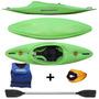 Kayak Funky Atlantik + Remo + Salvavida + Cubre Cockpit Tela